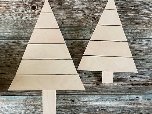 Faux Wood Pallet Tree Kit,  Made in the USA