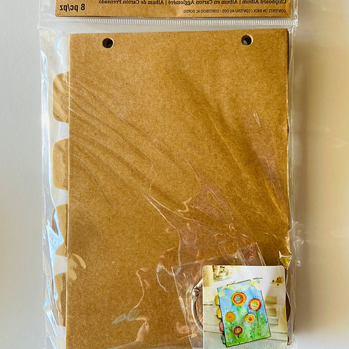 Chipboard Tabbed Album for Mixed Media