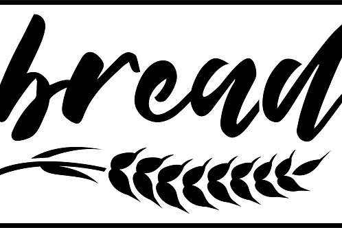 "Bread JRV 5"" x 8.3"""