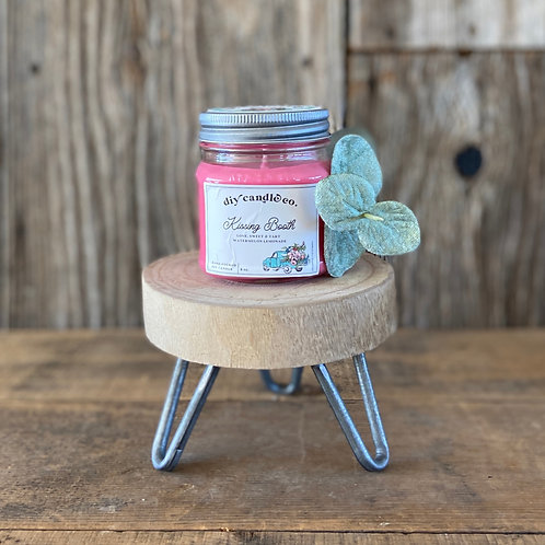 Kissing Booth, DIY Candle Co. Hand Poured, Soy Candle