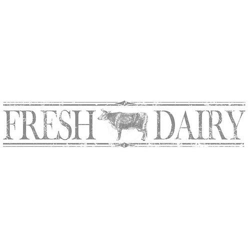 Fresh Dairy Decor Transfer