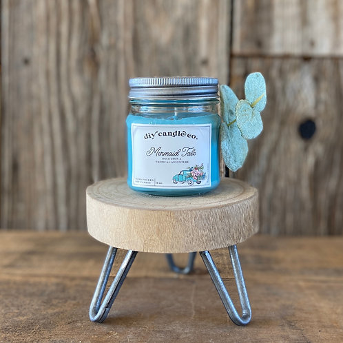 Mermaid Tale, DIY Candle Co. Hand Poured, Soy Candle