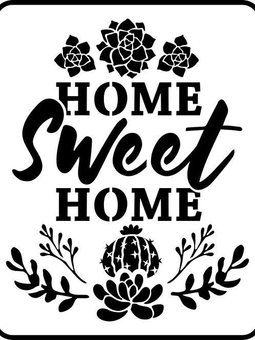 "Home Sweet Home JRV 8.75"" x 11"""