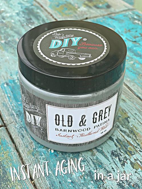 Old & Grey DIY (Barnwood Patina)