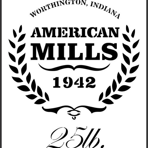 "American Mills JRV 11.5"" x 12.3"""