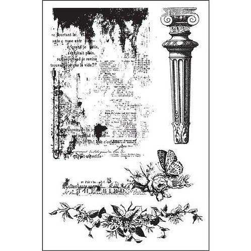 Garden Fable Cling Stamp
