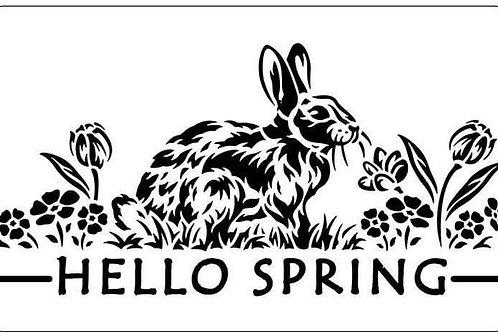 "Hello Spring JRV 11.5"" x 7"""
