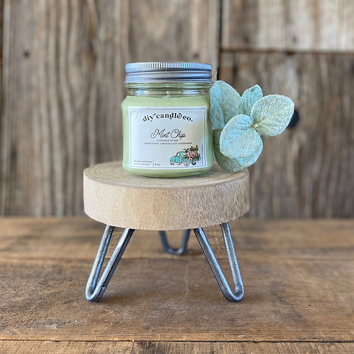 Mint Chip, DIY Candle Co. Hand Poured, Soy Candle