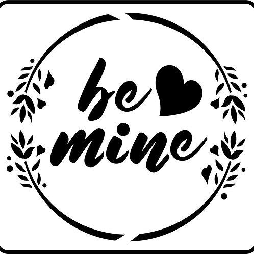 """Be Mine JRV 8"""" x 8.25"""""""