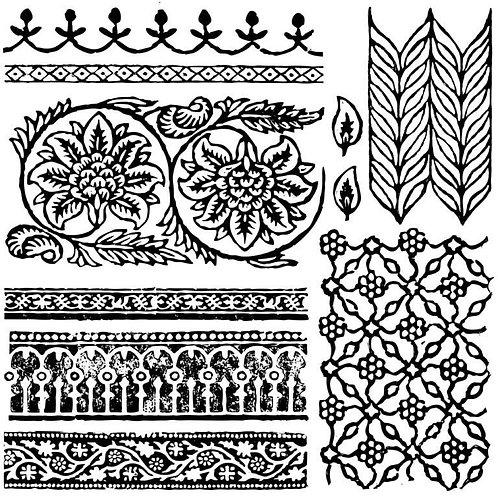 Bohemia Decor Stamps
