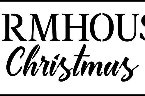 Farmhouse Christmas, JRV Stencil