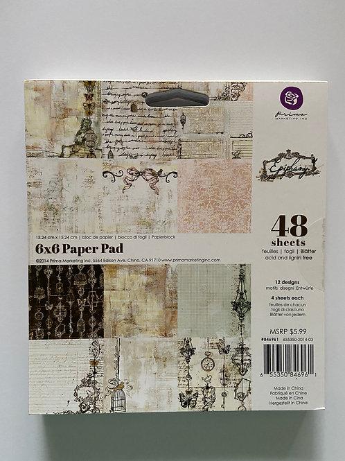 Epiphany 6 x 6 Paper Pad Mixed Media