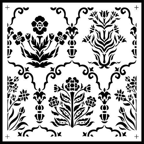 """Botanical Tile JRV 11.5"""" x 11.5"""""""
