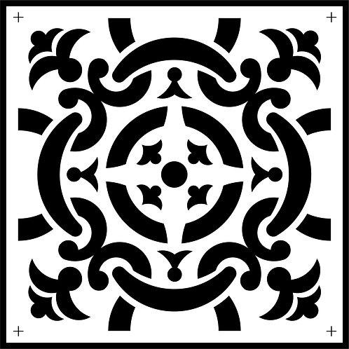 """Celtic Tile JRV 11.5"""" x 11.5"""""""