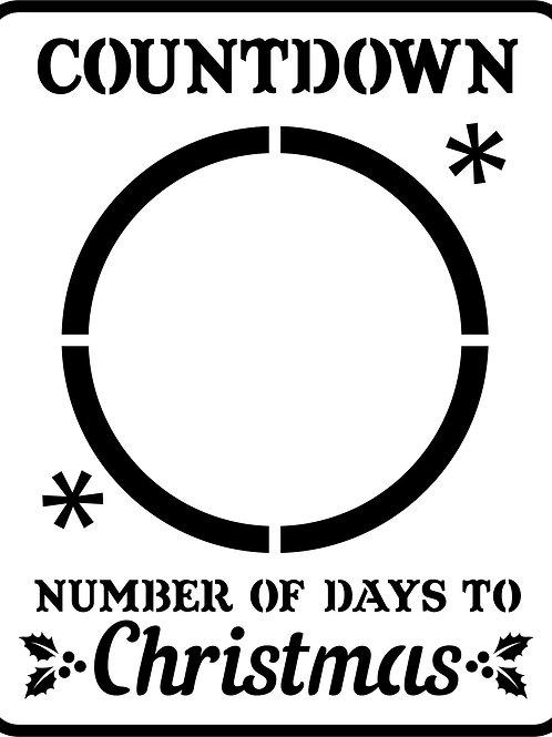 "Christmas Countdown JRV 9"" x 10"""