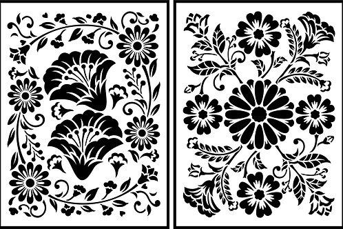 "Folklorico Flora JRV (2) 8.5"" x 11.5"""