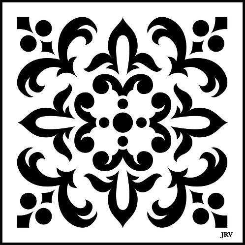Moroccan Tile #2, JRV Stencil