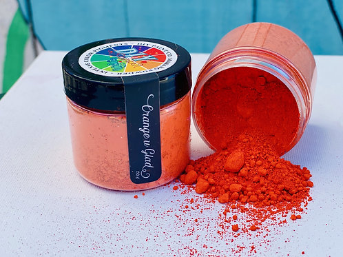 Orange You Glad Making Powder, Pigment Powder, DIY Paint Co.