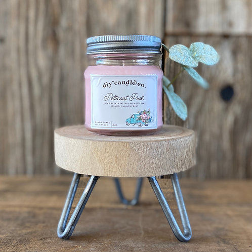 Petticoat Pink, DIY Candle Co. Hand Poured, Soy Candle