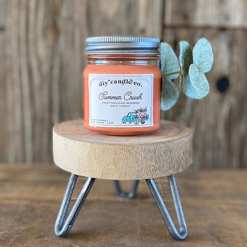 Summer Crush, DIY Candle Co. Hand Poured, Soy Candle