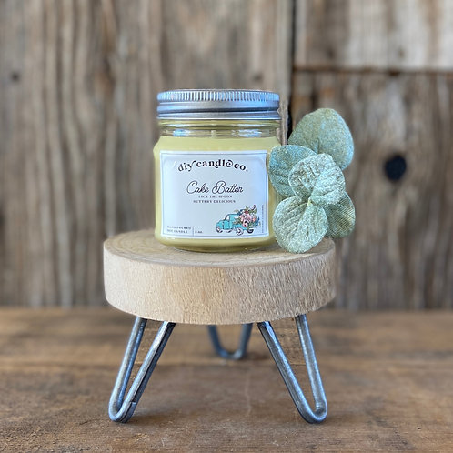 Cake Batter, DIY Candle Co. Hand Poured, Soy Candle