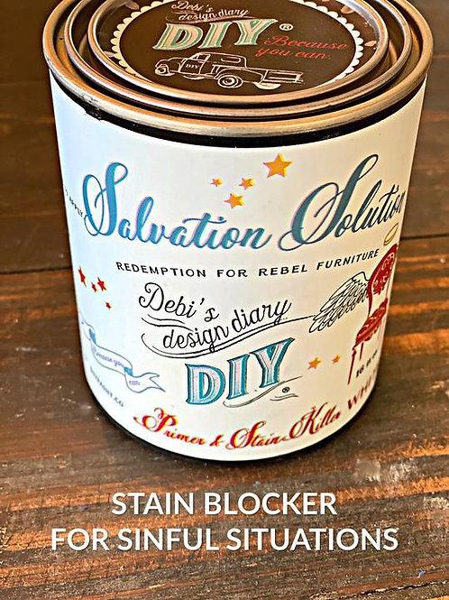 Salvation Solution DIY Wood Stain Blocker, 16 0z.