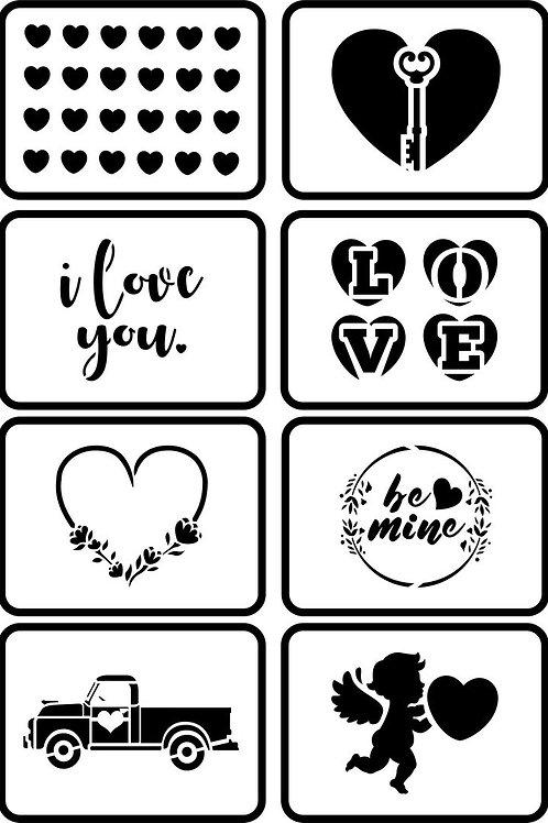 "Valentine Minis JRV (8) 4"" x 5"""