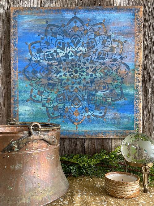 Creativity Mandala Original Hand Painted Canvas