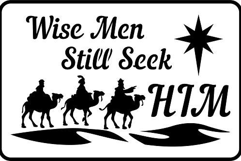 """Wise Men JRV 11.5"""" x 7.5"""""""