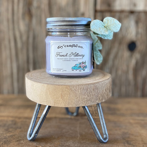 French Millinery, DIY Candle Co. Hand Poured, Soy Candle