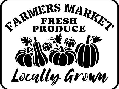 """Farmer's Market JRV 11.5"""" x 15"""""""