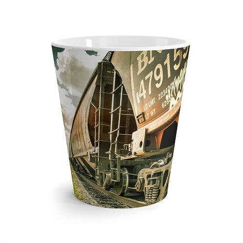 Latte mug Train