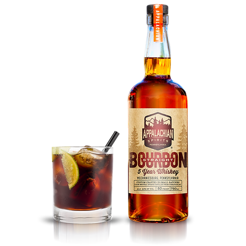 Appalachian Straight Bourbon Whiskey