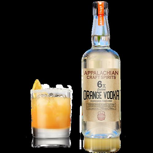 Appalachian Orange Vodka