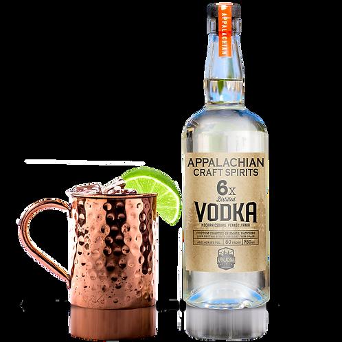 Appalachian 6X Distilled Vodka