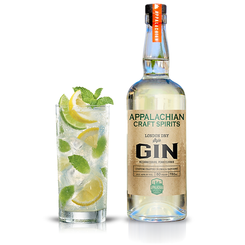 Appalachian London Dry Style Gin