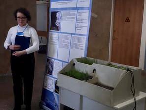 Защита проекта по экологии на конкурсе Инженеры будущего