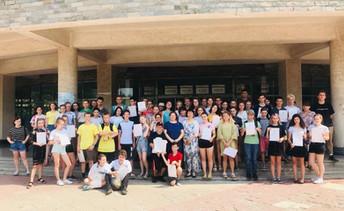 Летний лагерь в Шеньяне. Июль 2018