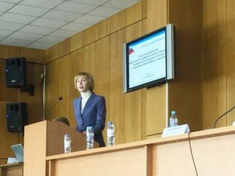 Доклад А.А.Сизовой о развитии школьного китаеведения на Всероссийском съезде представителей предметн