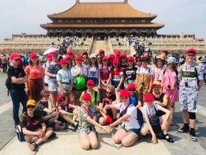 6Г и 6Д на стажировке в Китае