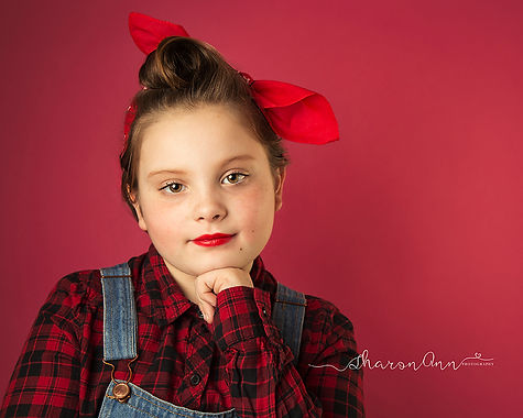 Children's Fine Art Portraits Birmingham