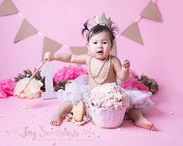 Cake Smash Photographer Birmingham, Great Barr, Sutton Coldfield Photographer