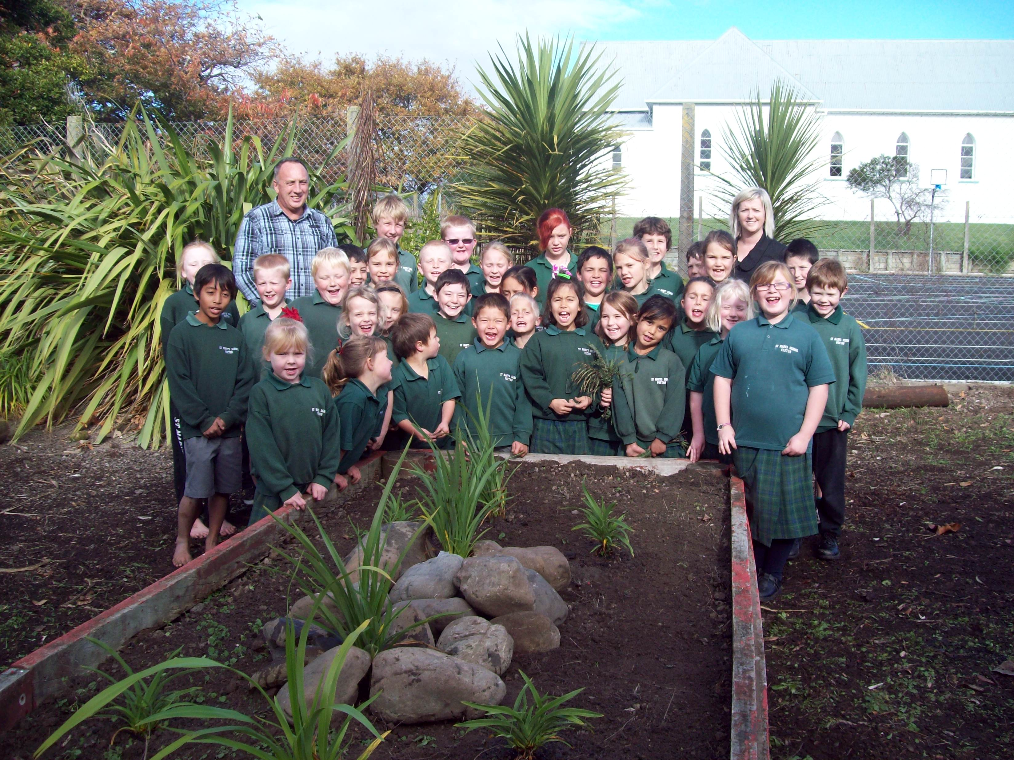 Whole School - St Marys Foxton - Horowhenua