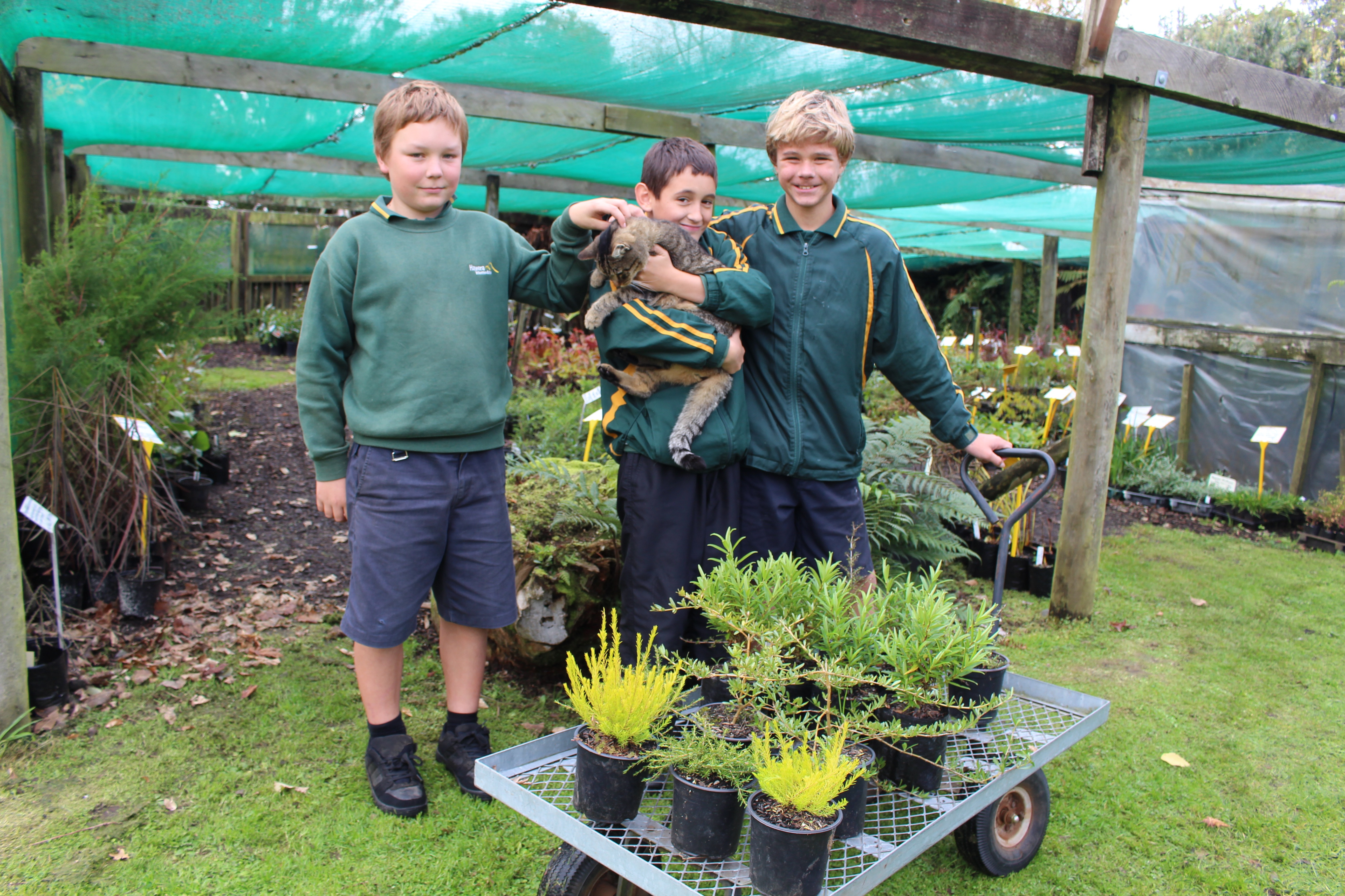 Hawera Intermediate School Enviromentalists