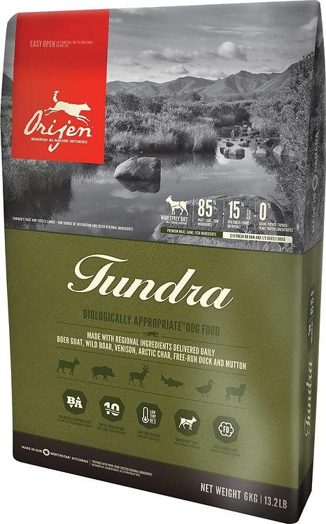 ORIJEN Tundra  pour chien et chiot toutes tailles 11,4kg
