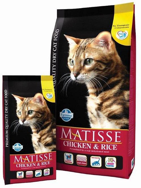 FARMINA Matisse poulet et riz pour chat adultes