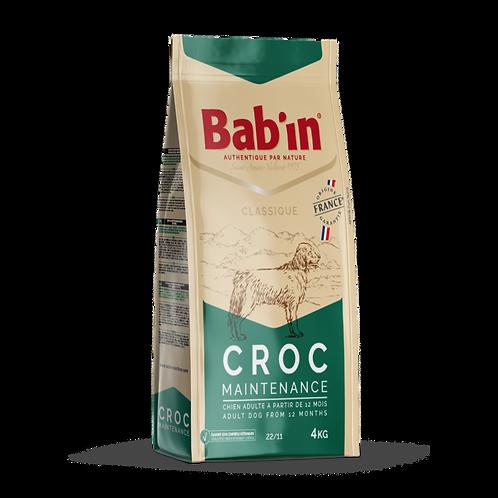 Bab'in CROC MAINTENANCE en 15kg