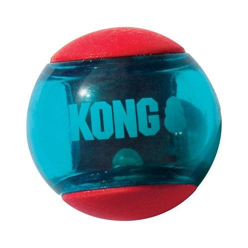KONG - Squeezz Action Ballelot de 2 balles