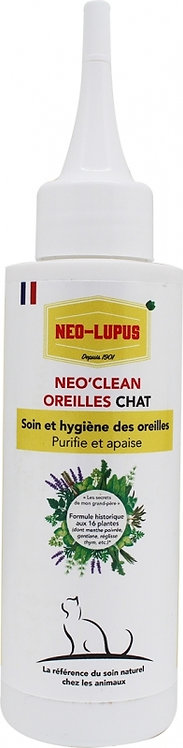 NEO LUPUS Neo Clean Chat - Hygiène des oreilles
