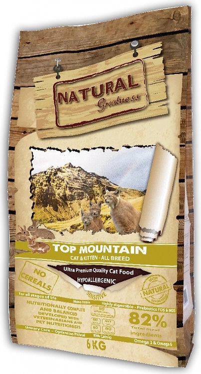 NATURAL GREATNESS Top Mountain pour Chat Adulte & Chaton
